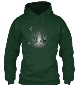 Sojo Green Hoodie front