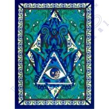 Blue Hamsa