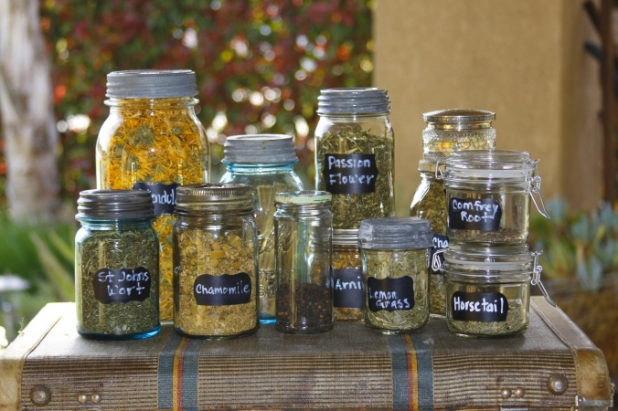 jar-filled-with-dried-herbs